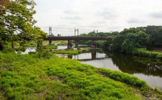 旧入間川橋梁 土木遺産を訪ねて~西武池袋線②~